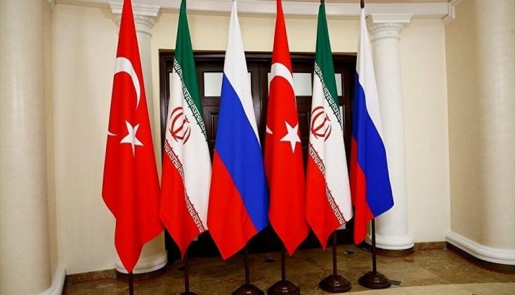 Rusya, Türkiye ve İran Suriye'yi Görüştü
