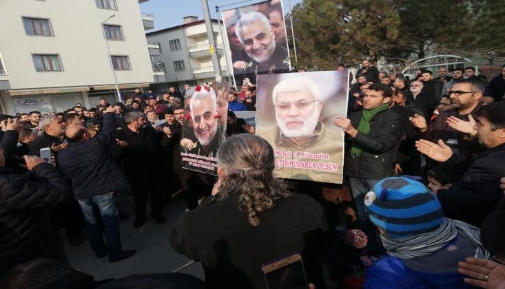 Kasım Süleymani'nin Şehadeti Münasebetiyle  Iğdır'da Yas Merasimi Düzenlendi/FOTO
