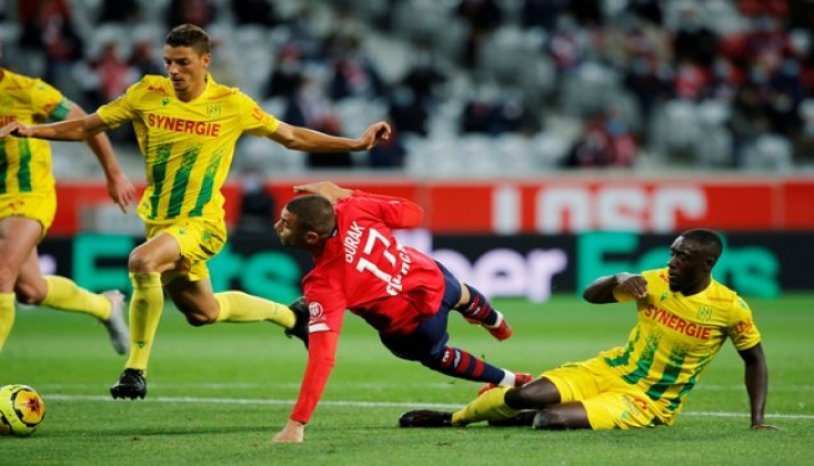 Burak Yılmaz Lille Formasıyla İlk Golünü Attı