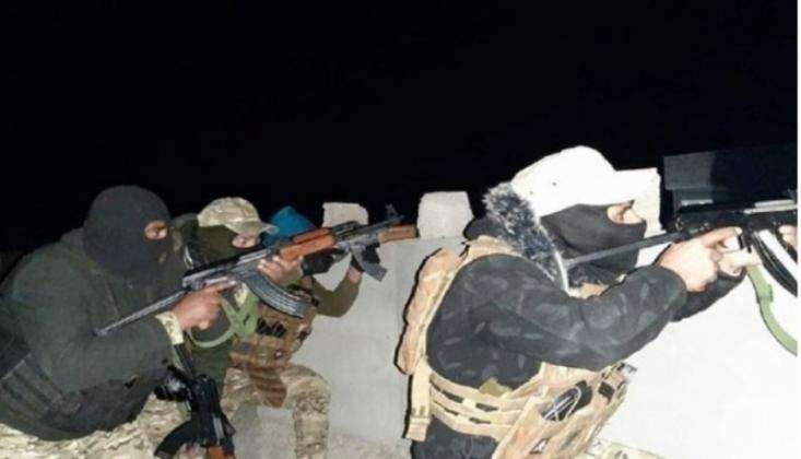 Irak'ta IŞİD'in Mühimmat Deposu Ele Geçirildi