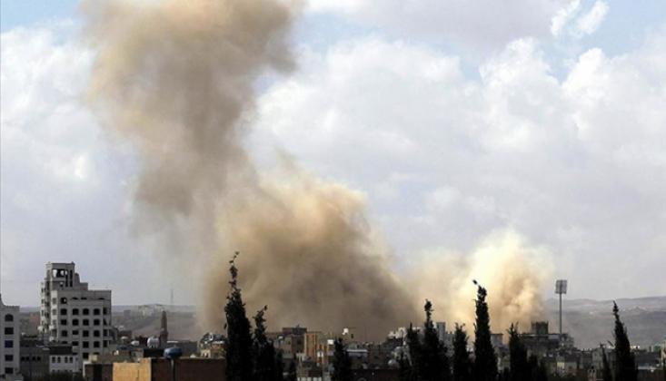 Suudi Rejimden Yemen'e 50 Hava Saldırısı