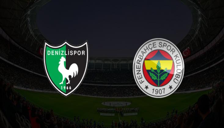Denizlispor - Fenerbahçe Muhtemel 11'ler