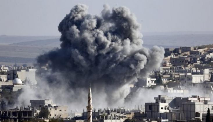 ABD Suriye'de Yine Sivilleri Vurdu