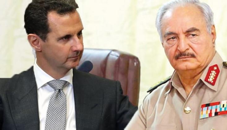 Libya ve Suriye Karşılıklı Elçilik Açıyor