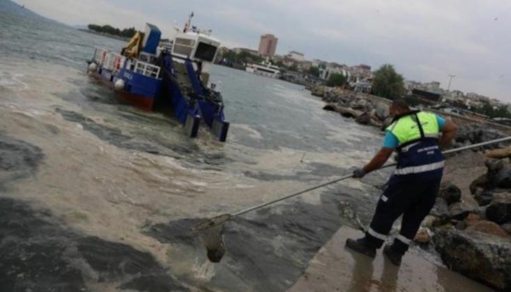 İstanbul'da Müsilaj Temizliği Başladı