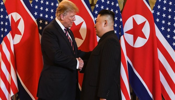 Trump'tan Kuzey Kore Lideri Kim'e Çağrı