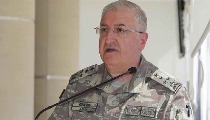 Genelkurmay Başkanı Güler, ABD'li Mevkidaşıyla Görüştü