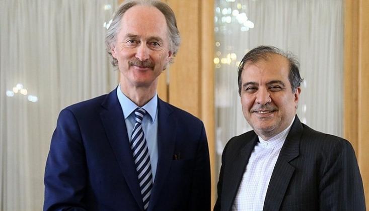 İran ile BM Suriye'yi Görüştü