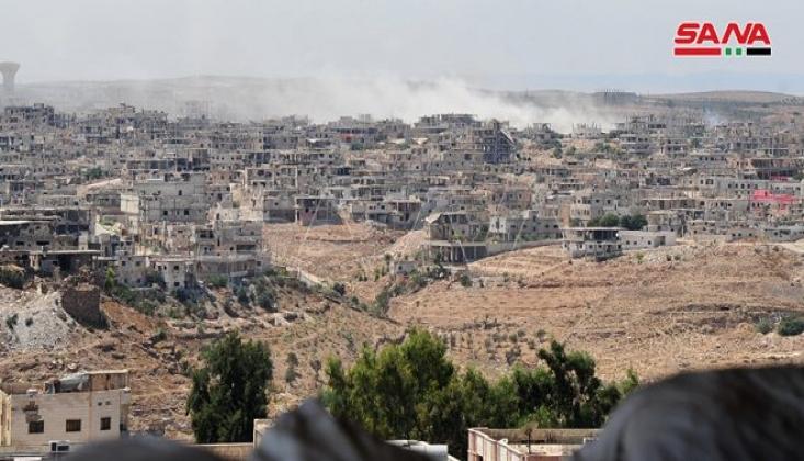Deraa'da Anlaşma İhlal Edildi; Suriye Ordusu Harekete Geçti