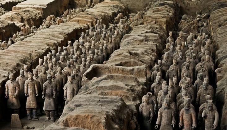 Çin'in 220 Tane Daha'kilden Asker Ordusu' Keşfedildi