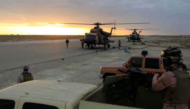 ABD Askerlerinin Bulunduğu Taci Askeri Üssüne Füzeli Saldırı