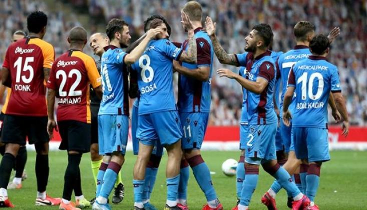 Galatasaray Trabzonspor Karşısında Mağlup Oldu