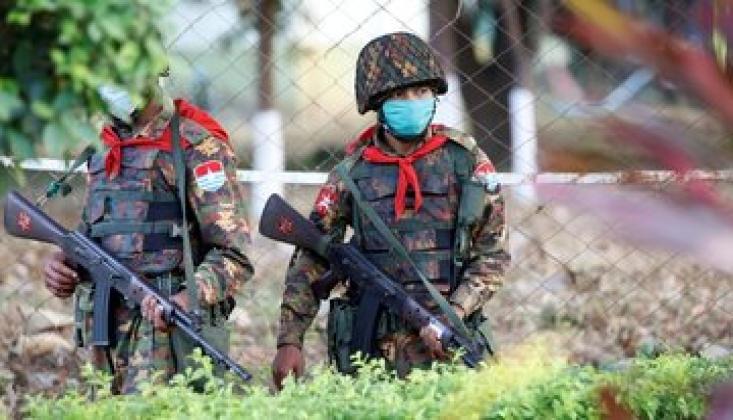 Myanmar'da Çatışmalar Devam Ediyor
