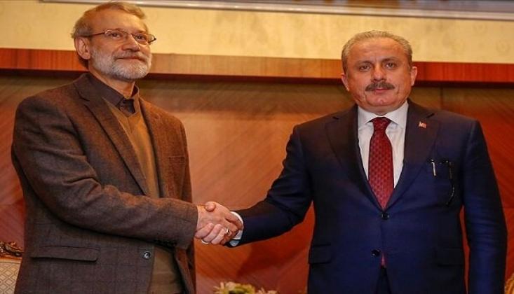 İran ve Türkiye Meclis Başkanları Telefonda Görüştü