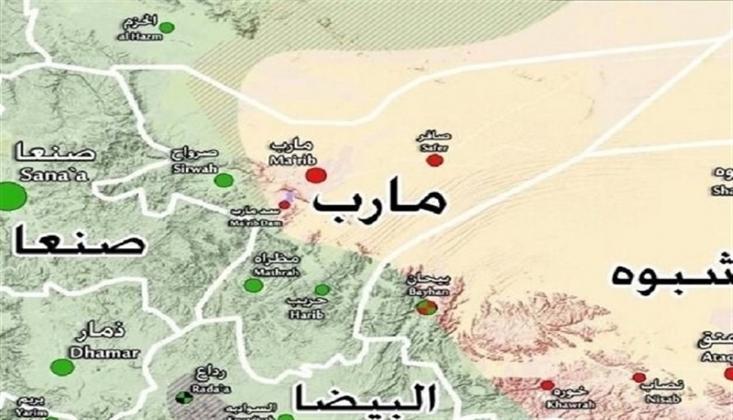 Marib'in Batı Bölgesi Tamamen Kurtarıldı