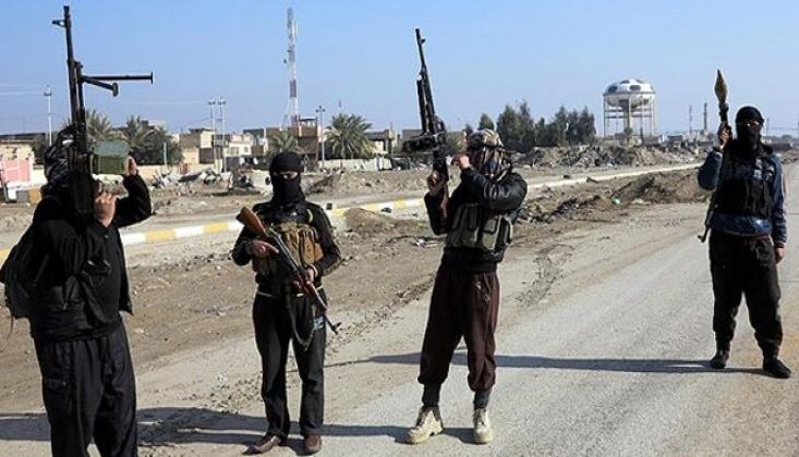 Teröristlerin Irak-Suriye Sınırında Kimyasal Saldırı Provokasyonu