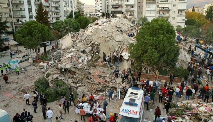 İzmir'deki Depremde Can Kaybı 62'ye Yükseldi
