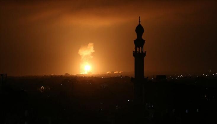 Siyonist Rejim Gazze'ye Top Atışı ile Saldırdı