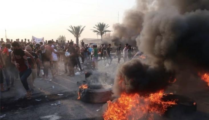 Irak'ta 5 Aylık Siyasi Çıkmazın Ardından Gösterilerin Yeniden Başlaması