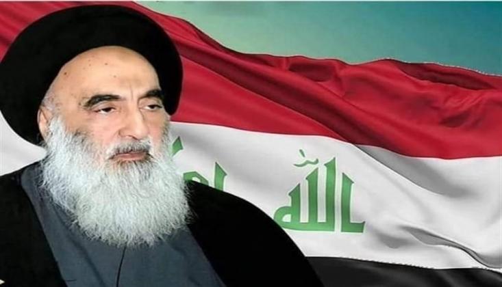 Ayetullah Sistani'den ABD'nin Haşdi Şabi'ye Yönelik Saldırısı Hakkında Açıklama