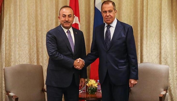 Lavrov ve Çavuşoğlu Soçi'de Görüşecek