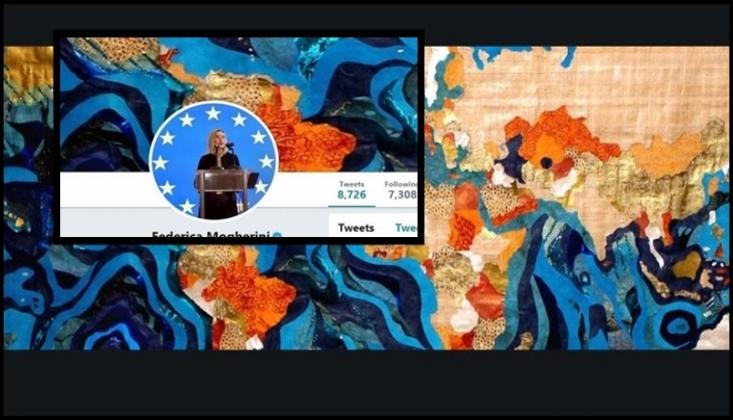 Mogherini'den İran Haritasıyla İlgili Skandal Paylaşım