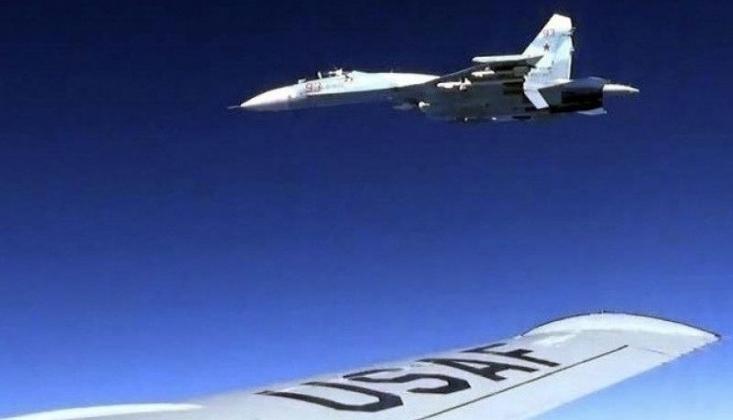 Rusya ve ABD Uçakları Karşı Karşıya Geldi