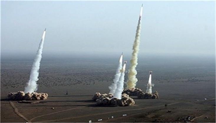 """""""Acı İntikam"""" Başladı/ İran'ın Balistik Füzeleri ABD'nin Ayn'ul Esed Üssünü Vurdu"""