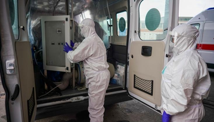 Brezilya'da Son 24 Saatte Koronavirüs Nedeniyle 612 Kişi Öldü