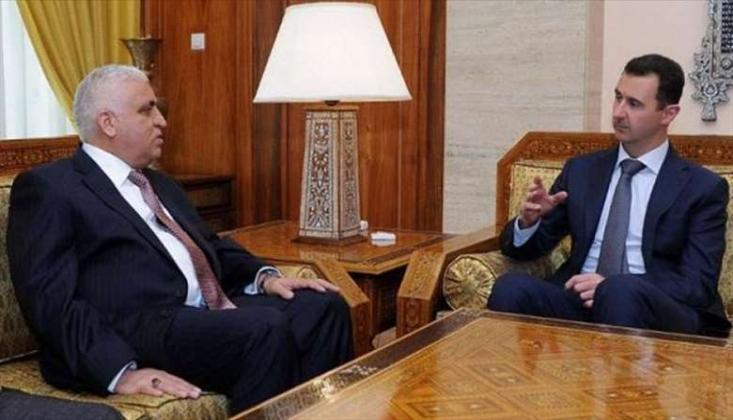 Haşdi Şabi Heyet Başkanı Suriye'ye Gitti