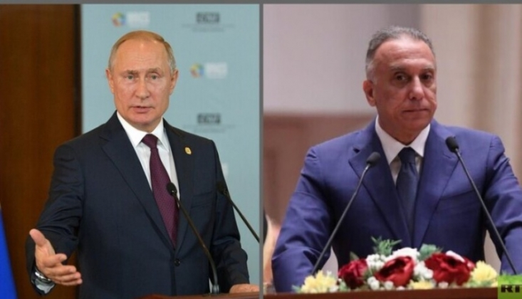 Putin ve Kazımi Görüştü