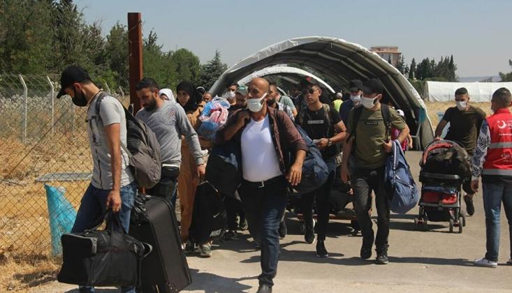 2 Bin Suriyeli Bayram İçin Ülkesine Döndü