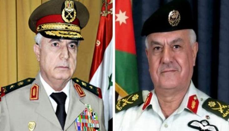 Ürdün Genelkurmay Başkanı, Suriye Savunma Bakanı İle Görüştü