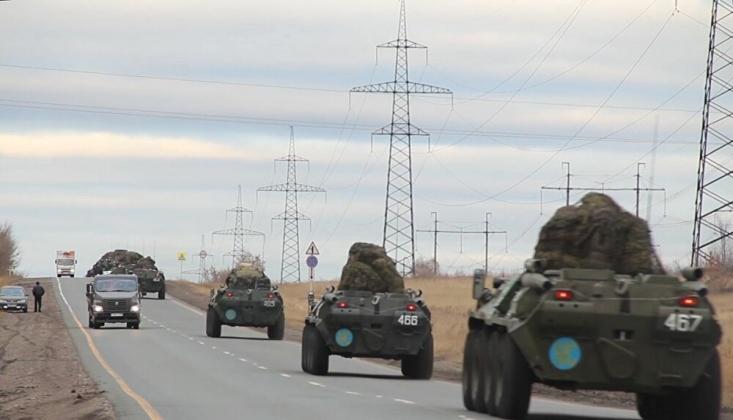 Rus Askerleri Karabağ'da Devriyelere Başladı