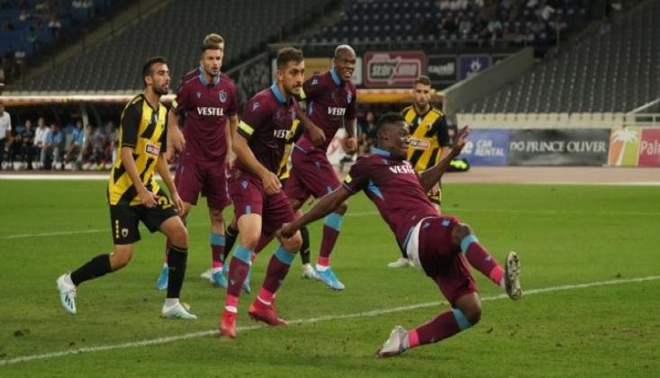 Trabzonspor Atina'da Ekuban'la Turu Cebine Koydu!