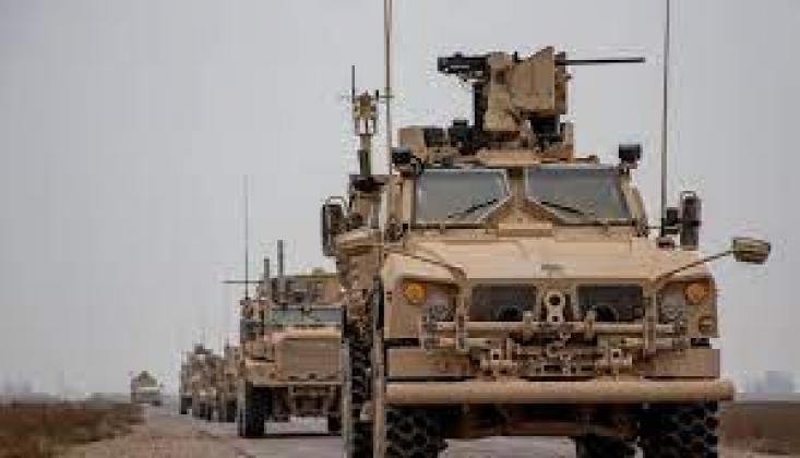 ABD Konvoyu Irak'tan Suriye'ye Giriş Yaptı