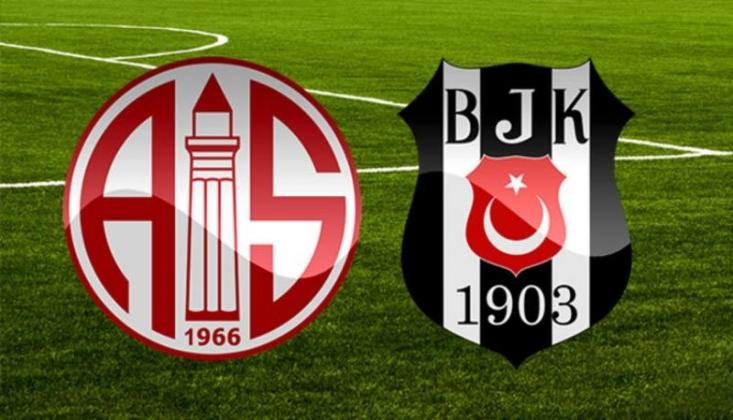 Antalyaspor - Beşiktaş Muhtemel 11'ler