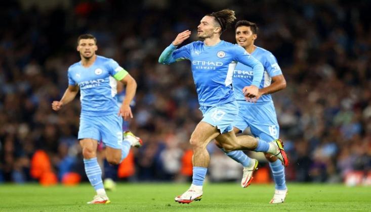 Manchester City, Gol Oldu Yağdı!