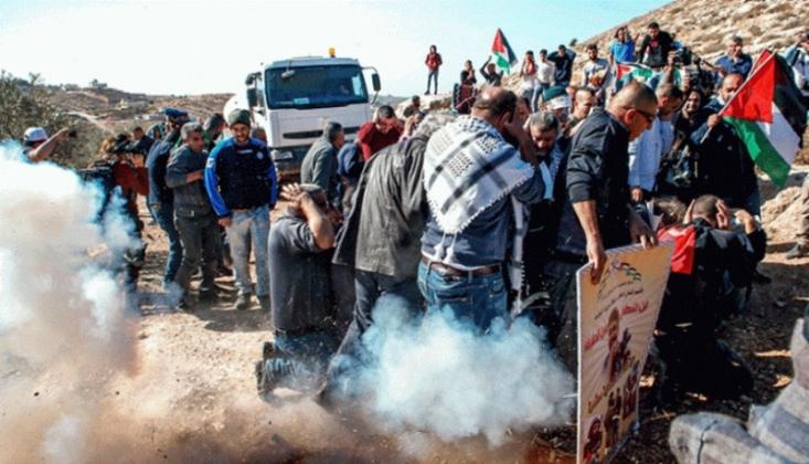 Siyonistlerin Saldırısında Onlarca Filistin'li Yaralandı