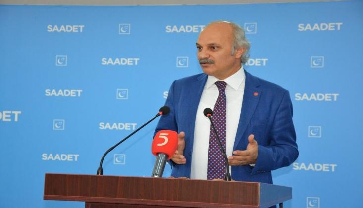 Saadet Partisi'nden Kobani Gözaltıları Tepkisi