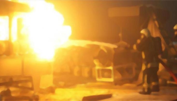 İran'da Gaz Patlaması