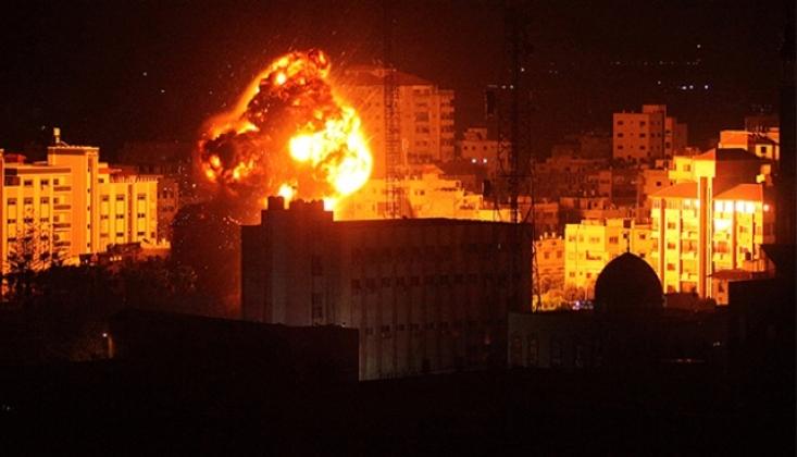 Irkçı İsrail'den Gazze'ye Saldırı