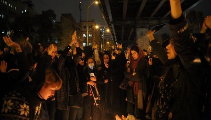 Ukrayna Yolcu Uçağının Düşürülmesi İran'da Protestolara Yol Açtı