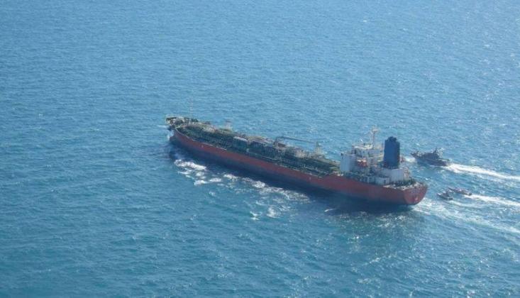 Güney Kore'ye Ait Tanker Serbest Bırakıldı