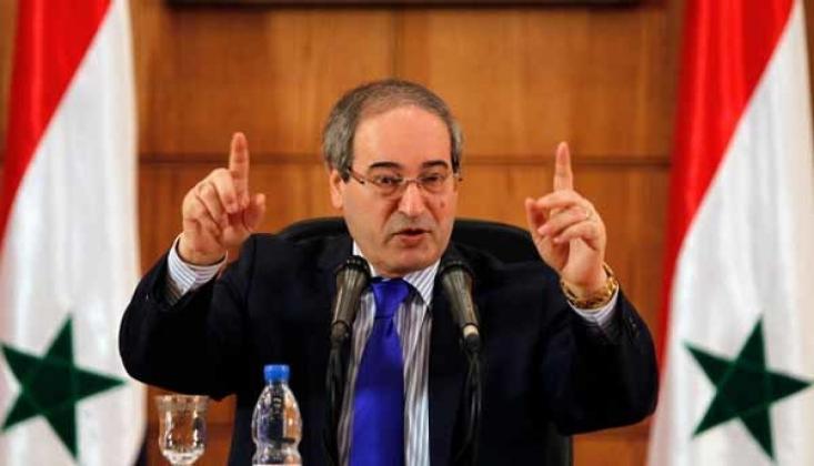 Suriye Dışişleri Bakanı: Filistin'in İhtiyacı Olan Her Şeye Hazırız