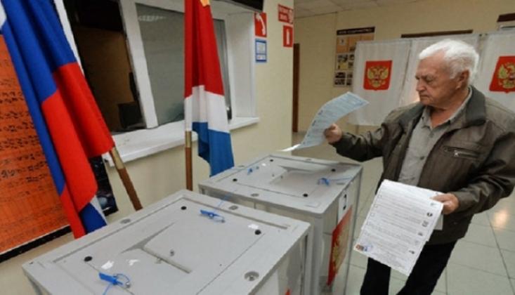 Rusya'da Oy Sayma İşlemleri Devam Ediyor