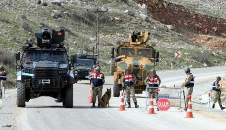 Van'da Askeri Devriye Aracına Sınır Ötesinden Ateş Açıldı