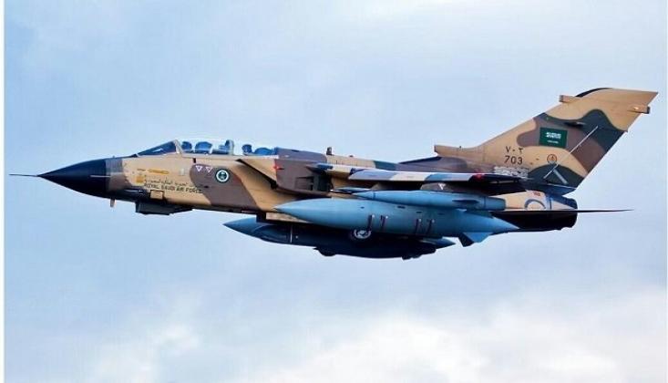 Yemen'de Suudi Koalisyonuna Ait Savaş Uçağı Düşürüldü