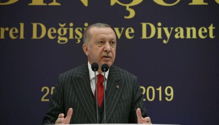 Erdoğan'dan Alevi Evinin İşaretlenmesine Tepki