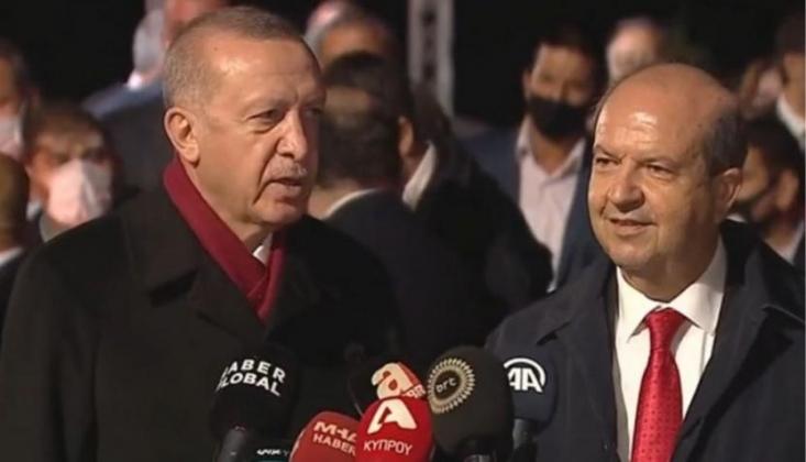 Erdoğan İle Tatar'dan Kapalı Maraş'ta Ortak Açıklama